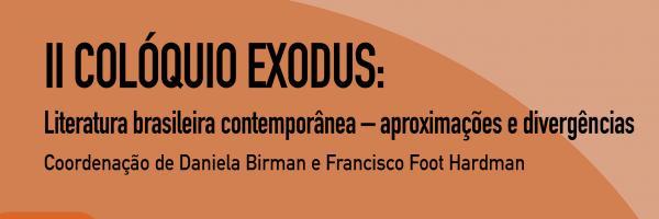 Cartaz - II Colóquio Exodus